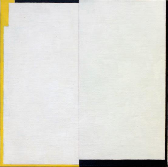 "Untitled ,2011 acrylic on canvas 15 ¾"" x 15 ¾"""