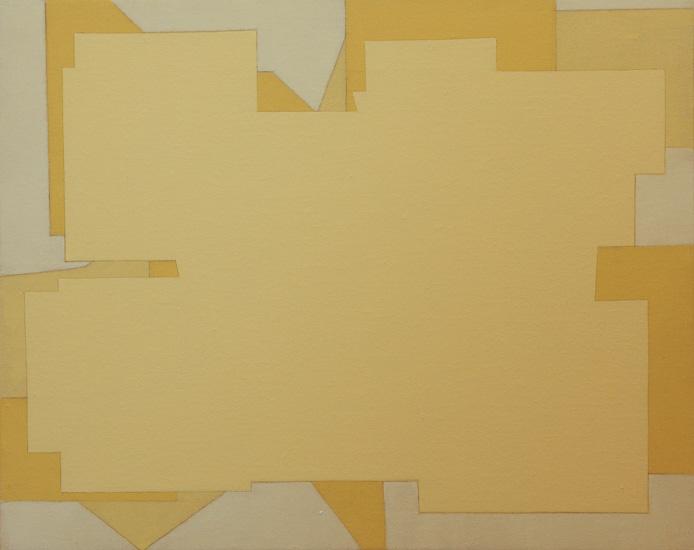 "Untitled ,2006 acrylic on canvas  15 3/4"" x 19 3/4"""