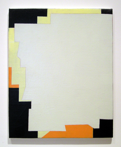 "Untitled ,2007 acrylic on Linen 19 ¾"" x 15 ¾"""