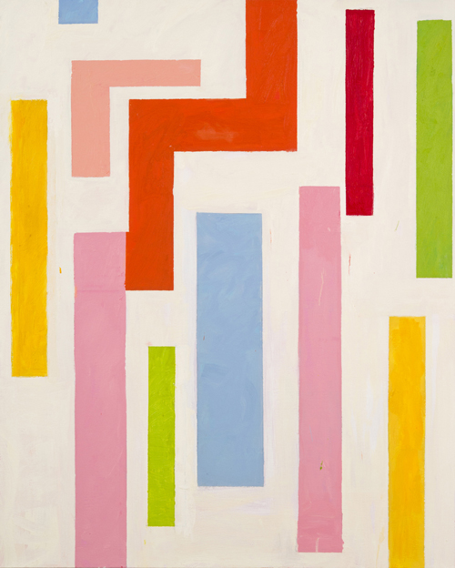 """Songsinger , 2011 acrylic on canvas 60"""" x 48"""""""