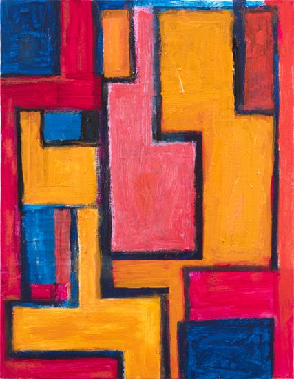 """study for rachel , 2009 oil on canvas 18"""" x 14"""""""