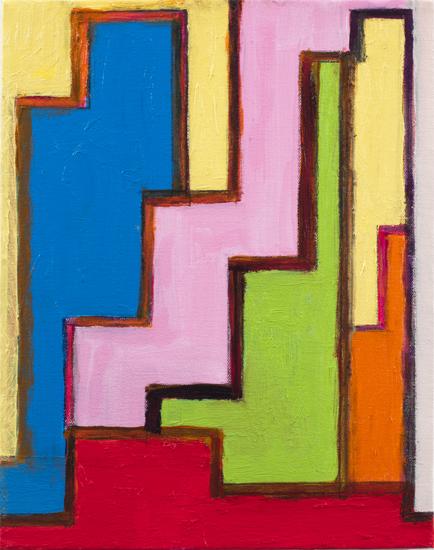 "study #2 , 2010 oil on canvas 14"" x 11"""
