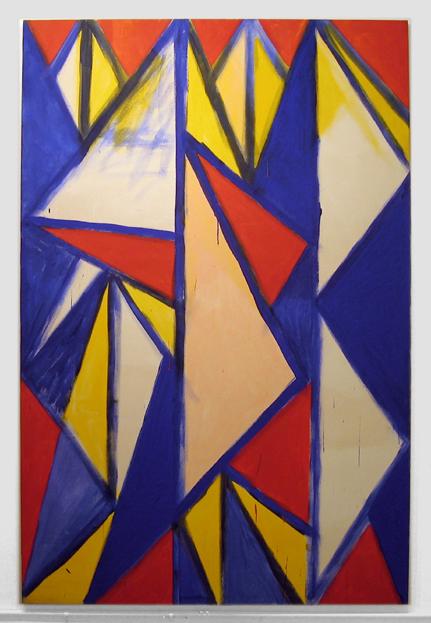 """Cayote Dreams , 2002 acrylic on canvas  90"""" x 60"""""""