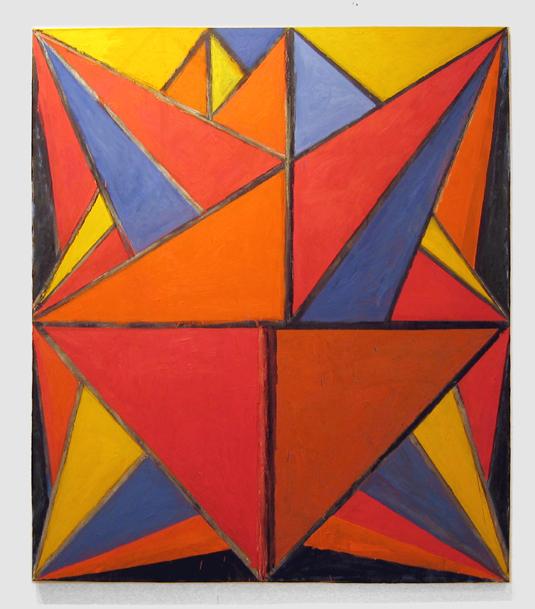 "Lowdown , 2006 oil on canvas 80"" x 69"""