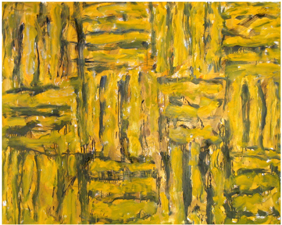 Eighth House #11 ,2004 oil on linen 48 x 60 inches