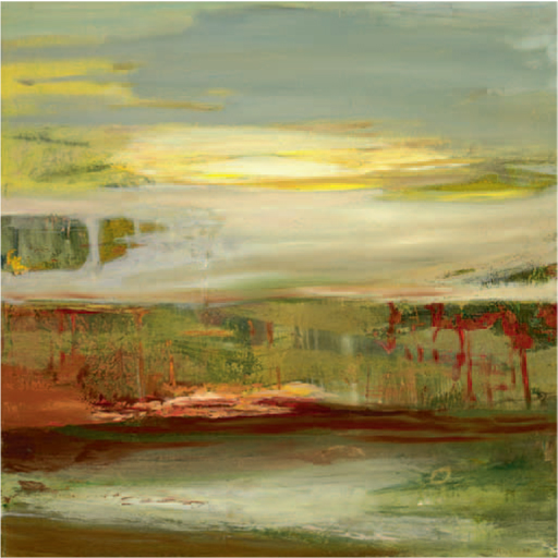 The Fourth Day (#8) , 2011 acrylic on canvas 47¼ × 47¼ inches (V)