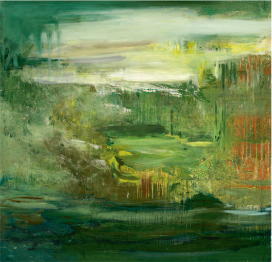 The Fourth Day (#16) , 2011 acrylic on canvas 65 × 65 inches (III)