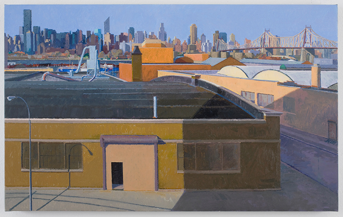 morning , 2010 oil on linen 16 x 26 inches