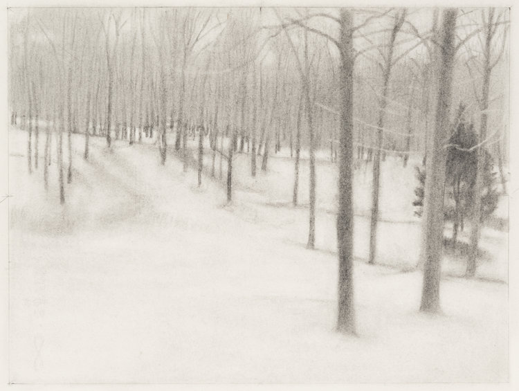 Path , 2017  pencil on paper  9 x 12 inches