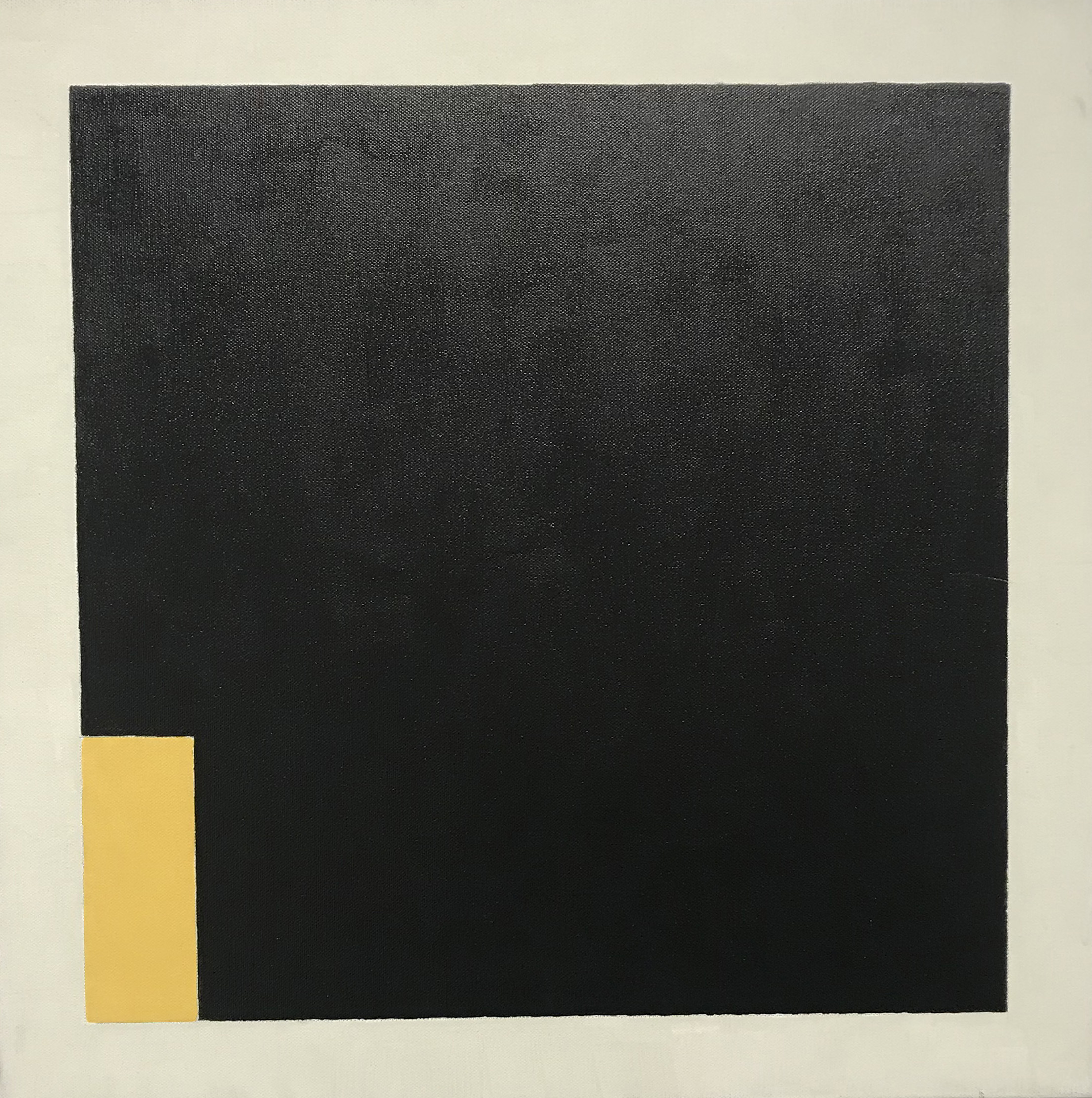 untitled  (LK18.005), 2018 acrylic on canvas 19 3/4 x 19 3/4 inches