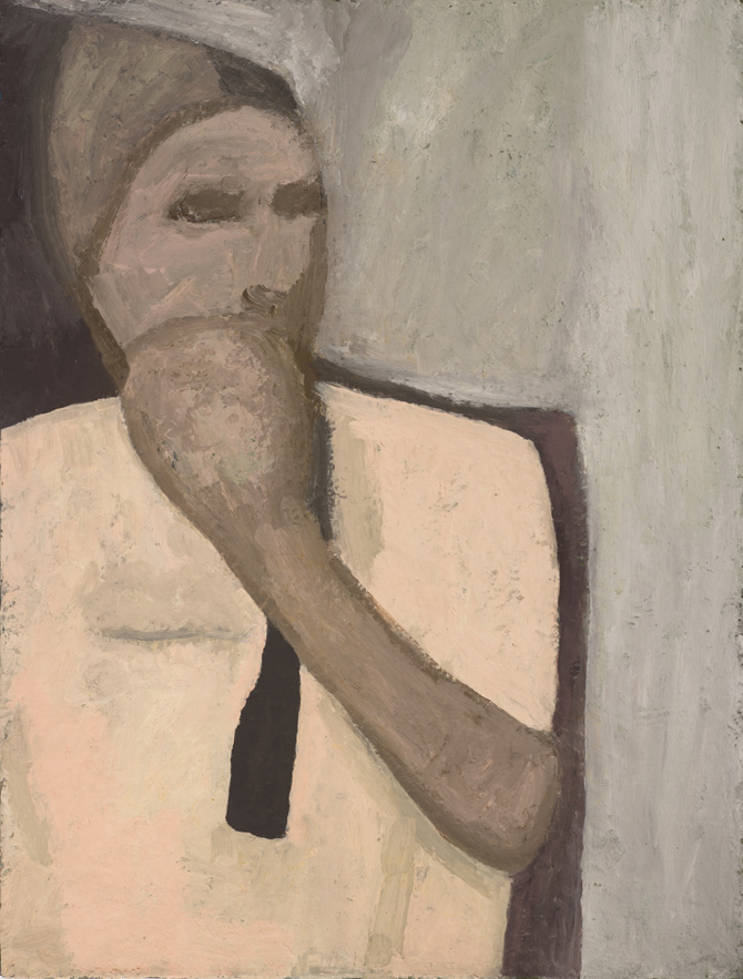 Tinker , 1995 Oil on canvas 24 x 18 inches
