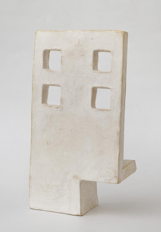 precarity , 2018  stoneware 9 x 5 x 2 3/4 inches