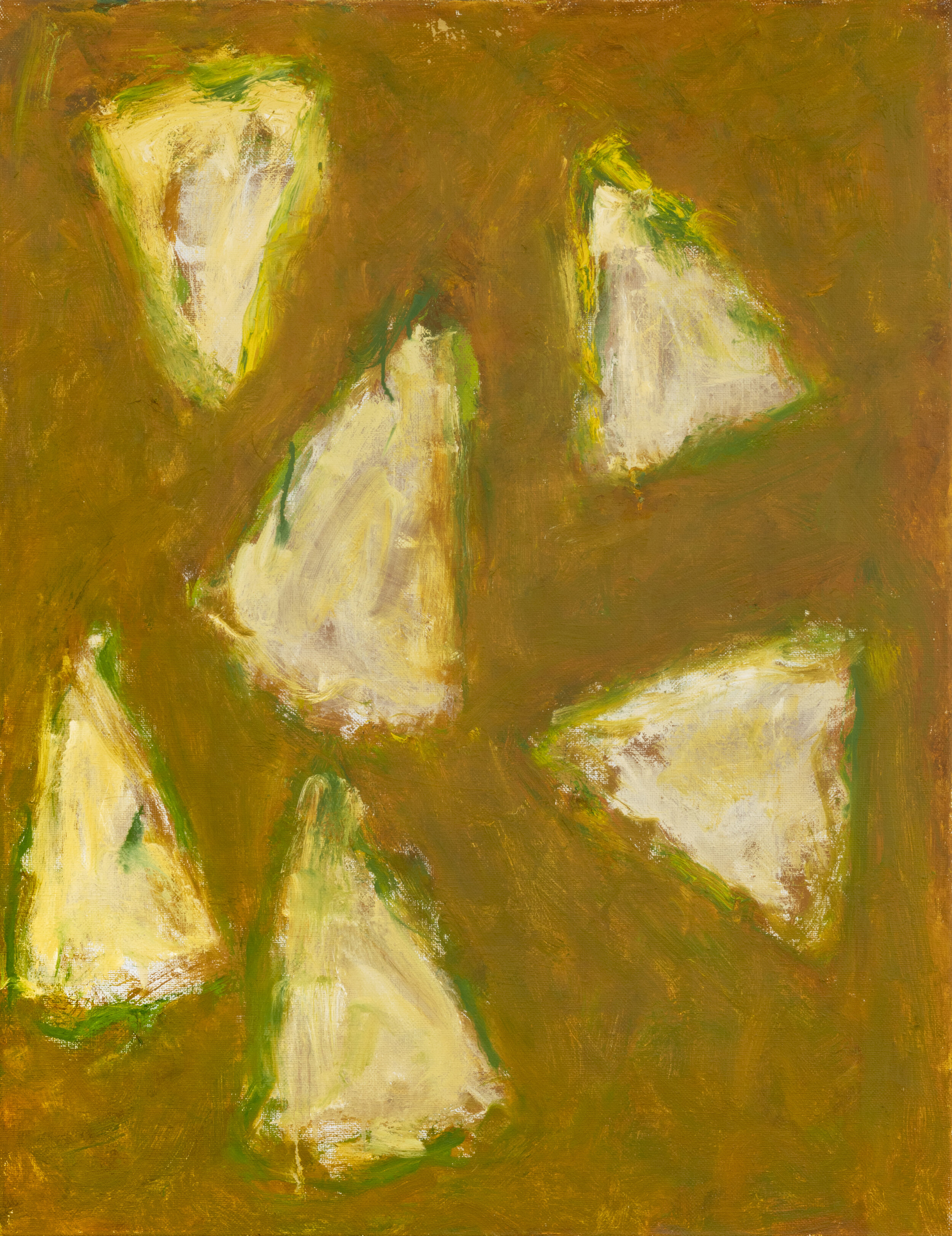 untitled,  2001 oil on linen 40 x 30 inches