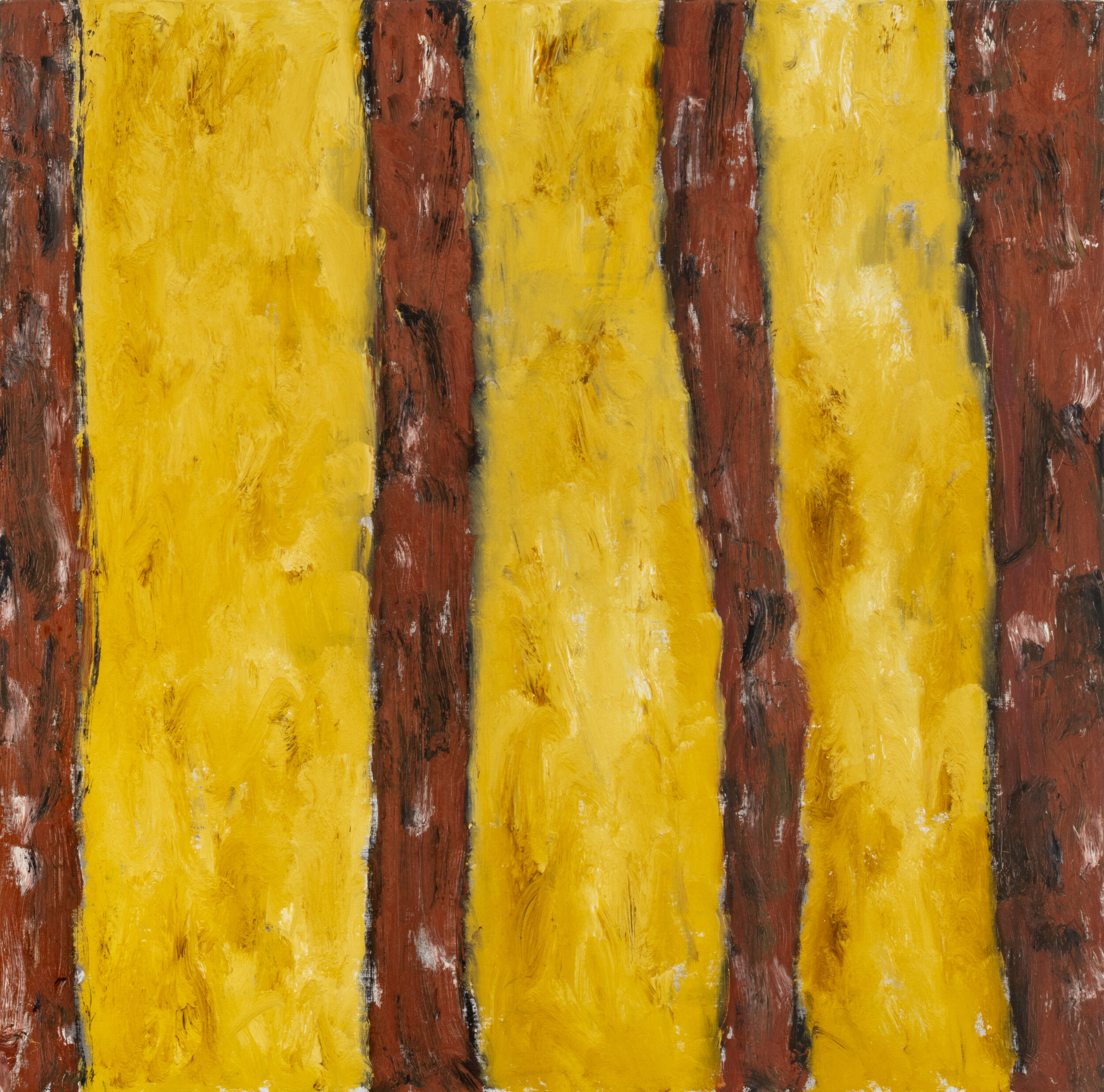 untitled,  1999 oil on linen 36 x 36 inches