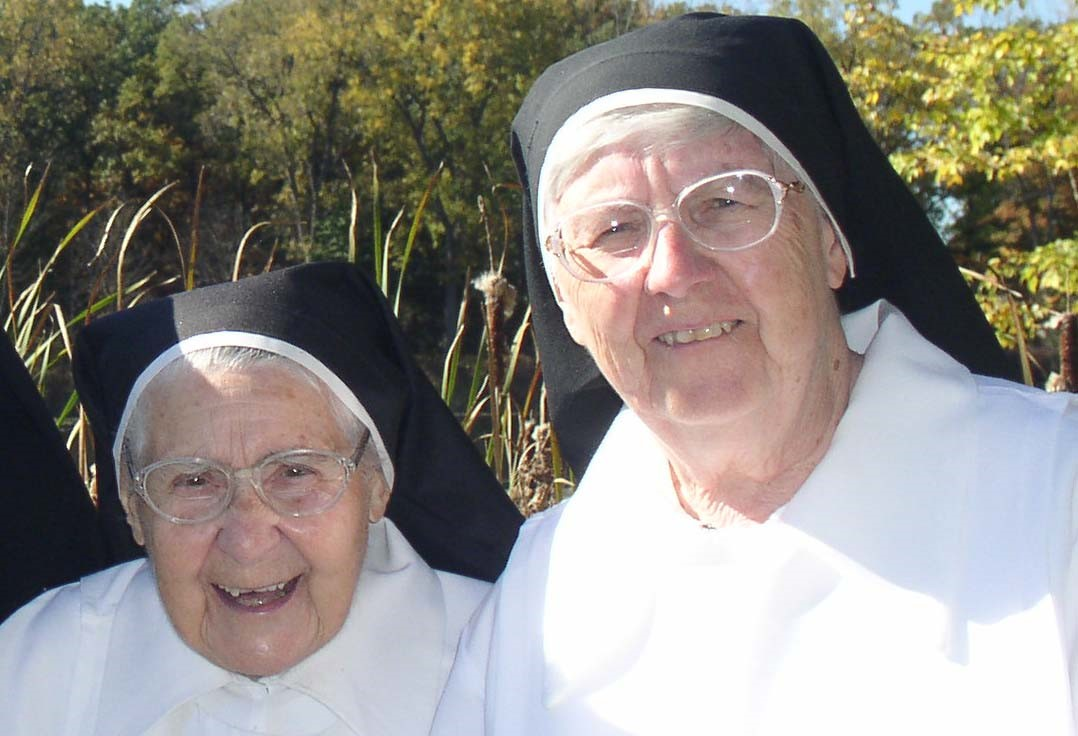 Sr. Mary Martin of Jesus and Sr. Anne Mary of the Trinity