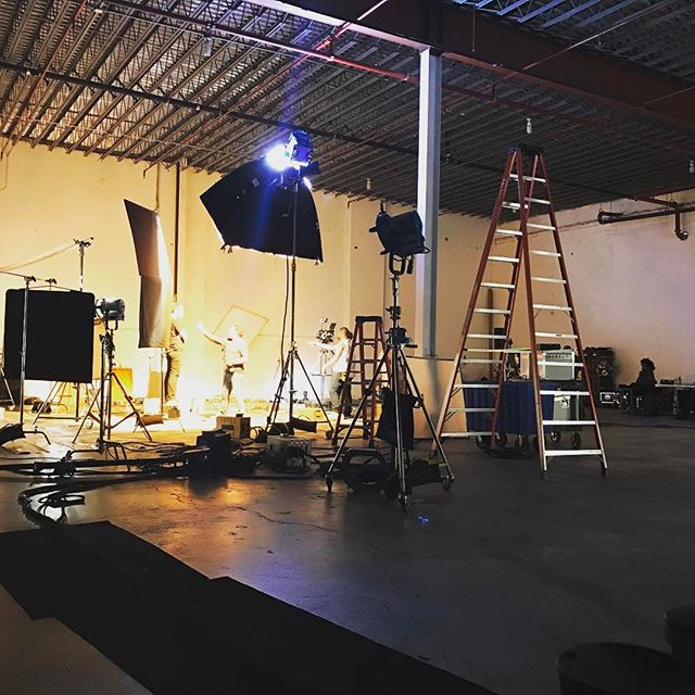 4K HMIs Room to light from above at @hookstudiobk with 18' ceilings #bts  Available to rent through Hook Equipment, email equipment at hook studio dot com. For full EQ inventory click link in bio. . . . . . #hmi #4k #hookequipment #hookstudio #productionequipment #griprental #lightingrental #productionrental #eqrental #brooklyn #nyc #photoshoots