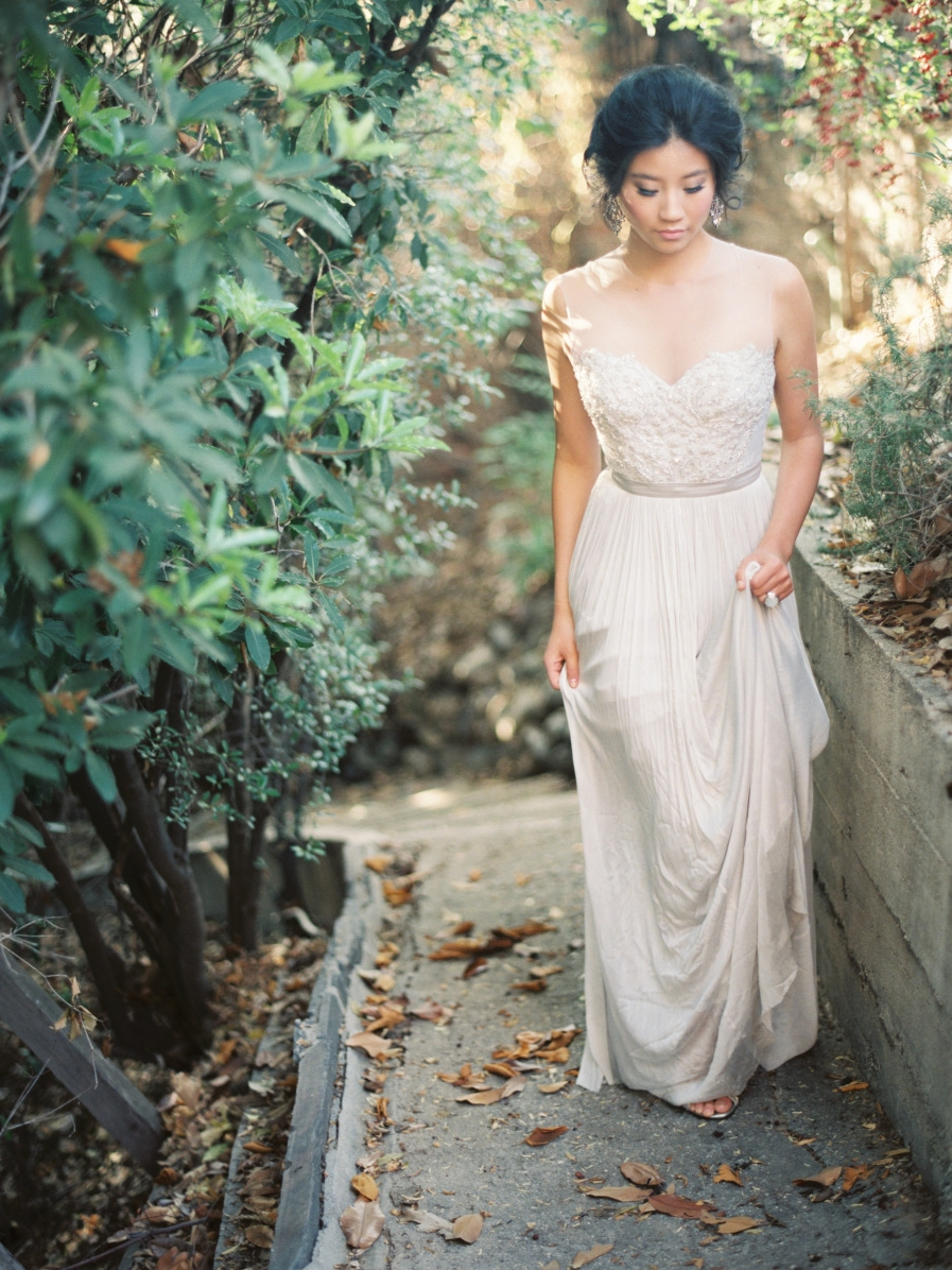 STYLE ME PRETTY : Secret Garden Wedding Inspiration