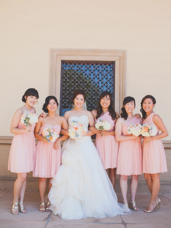 ELIZABETH ANNE DESIGNS : Pretty Pastel LA Wedding