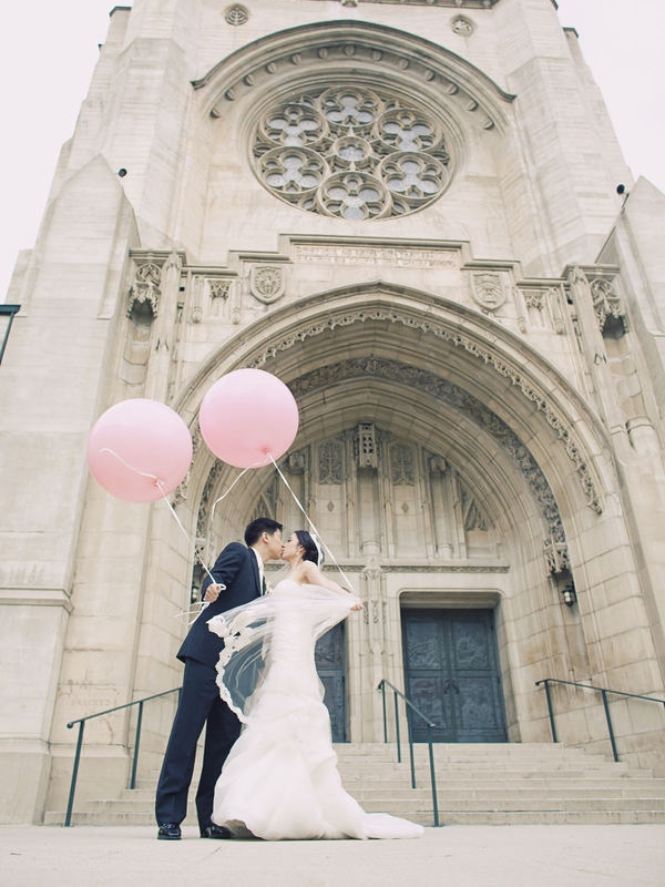 STYLE ME PRETTY : Park Plaza Wedding By Catherine Cindy Leo Weddings + Green Leaf Designs