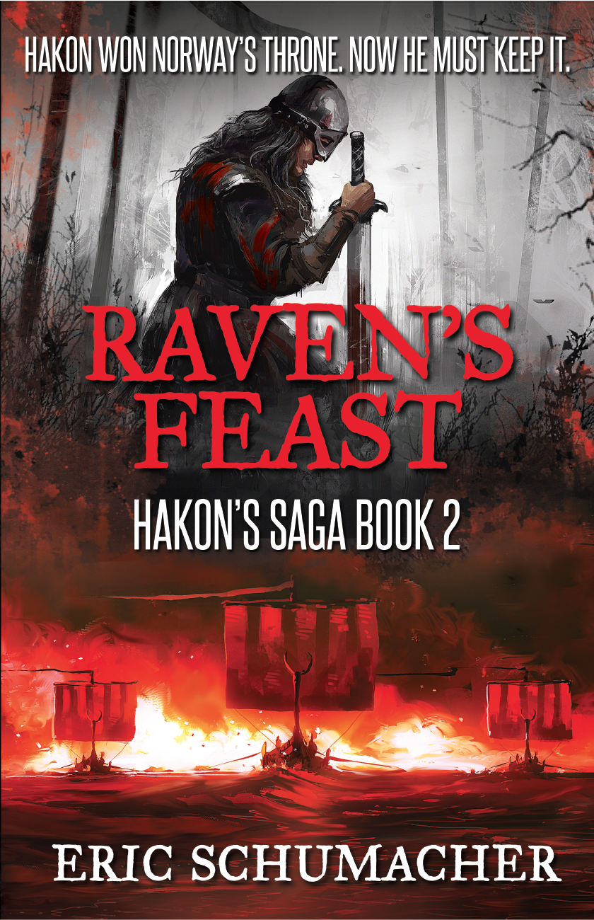 Final cover art for  Raven's Feast