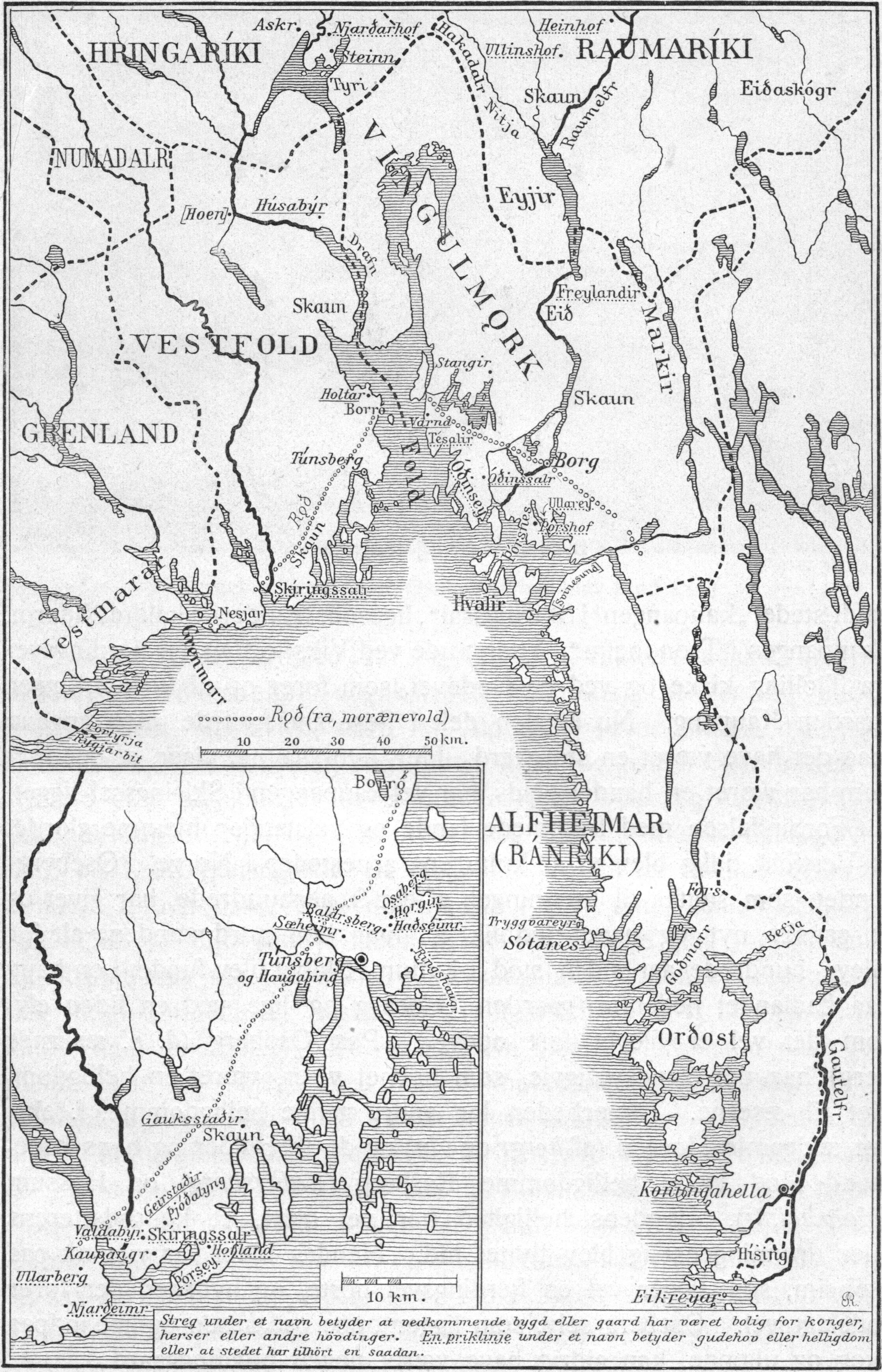 Vestfold, Vingulmark, Ranrik