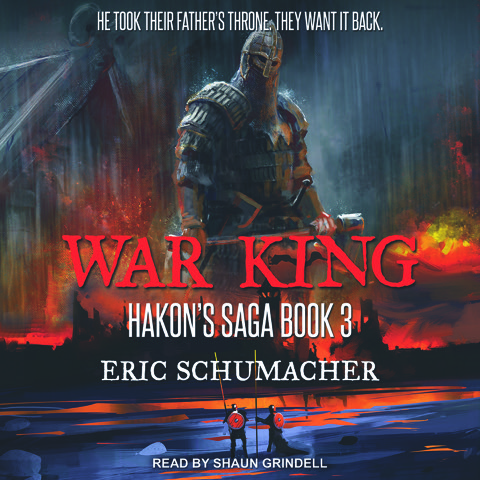 War King's audiobook cover