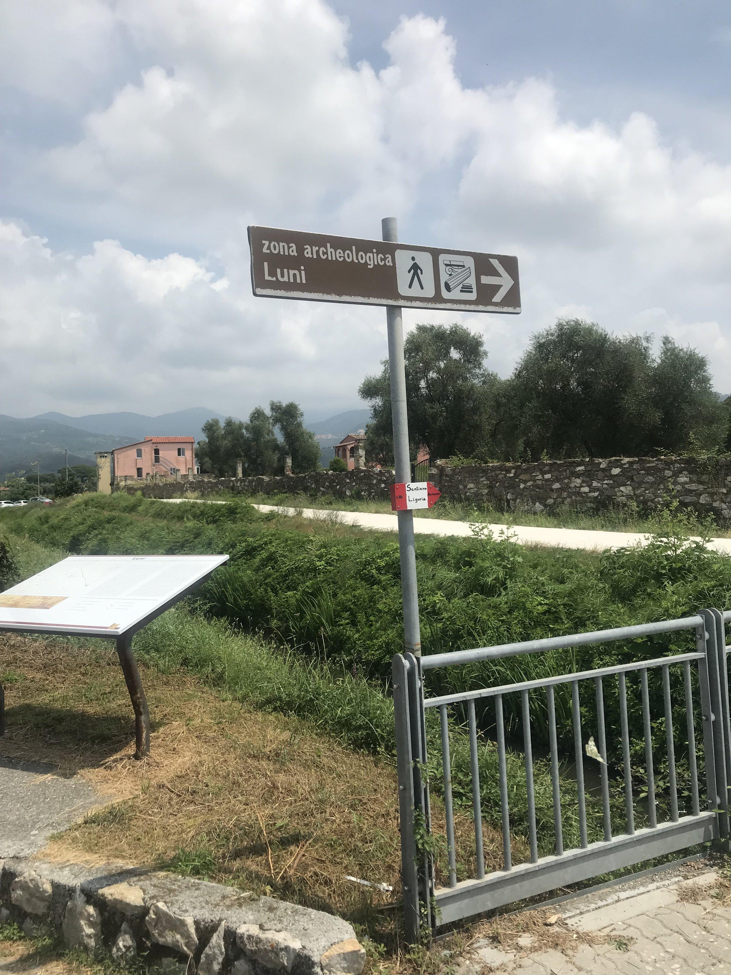 Luna's old Roman site (2019)