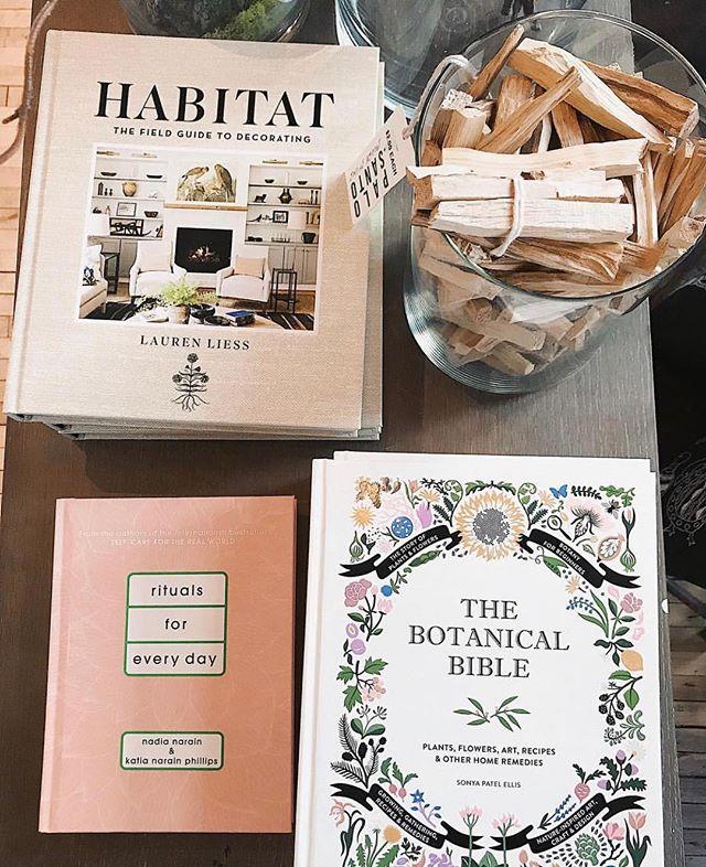 book habitat. @abramsbooks 📷: @angeliehumbert #rituals #botanicals #allthevibes