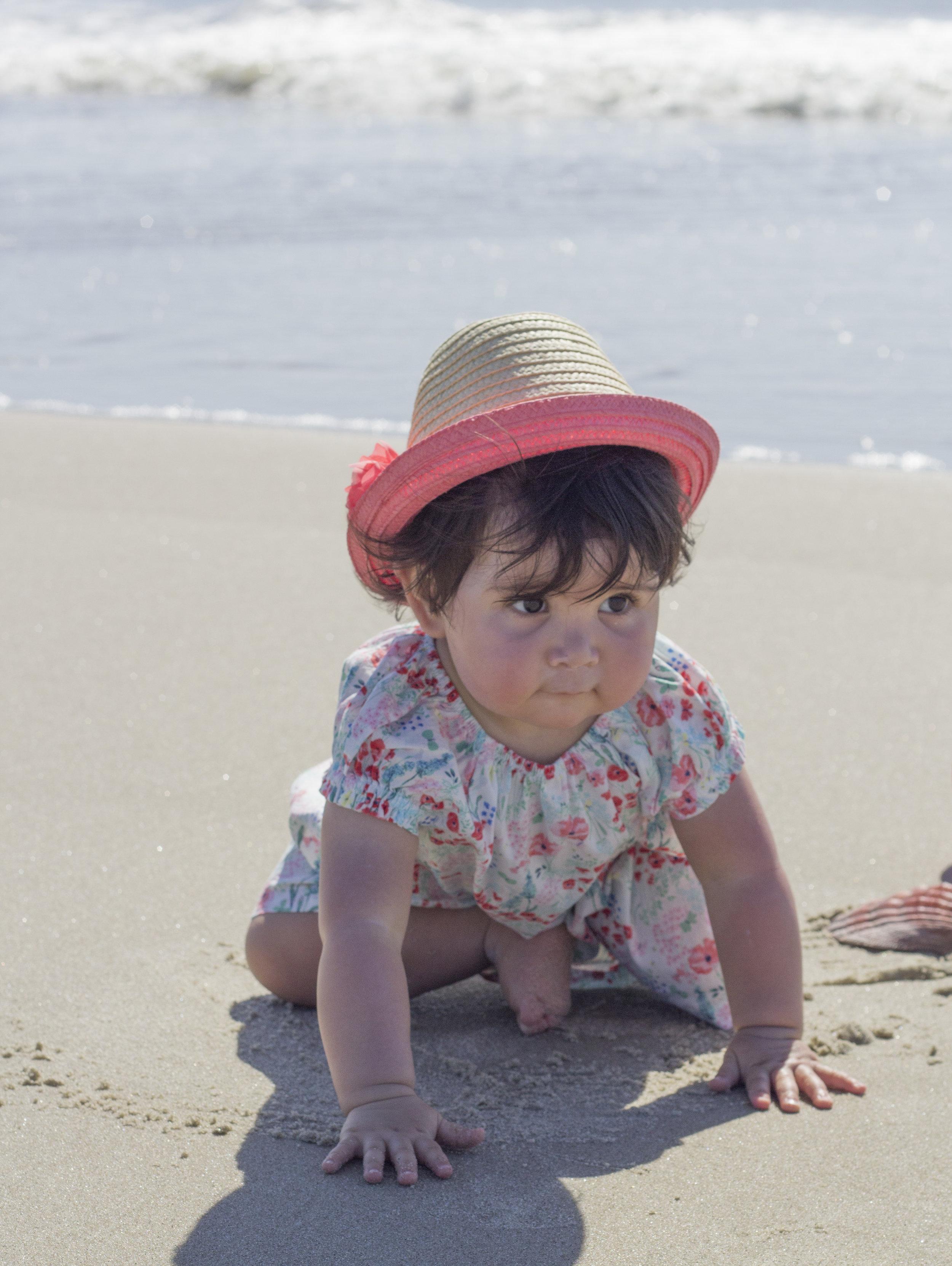 Baby Beach Photography Ideas