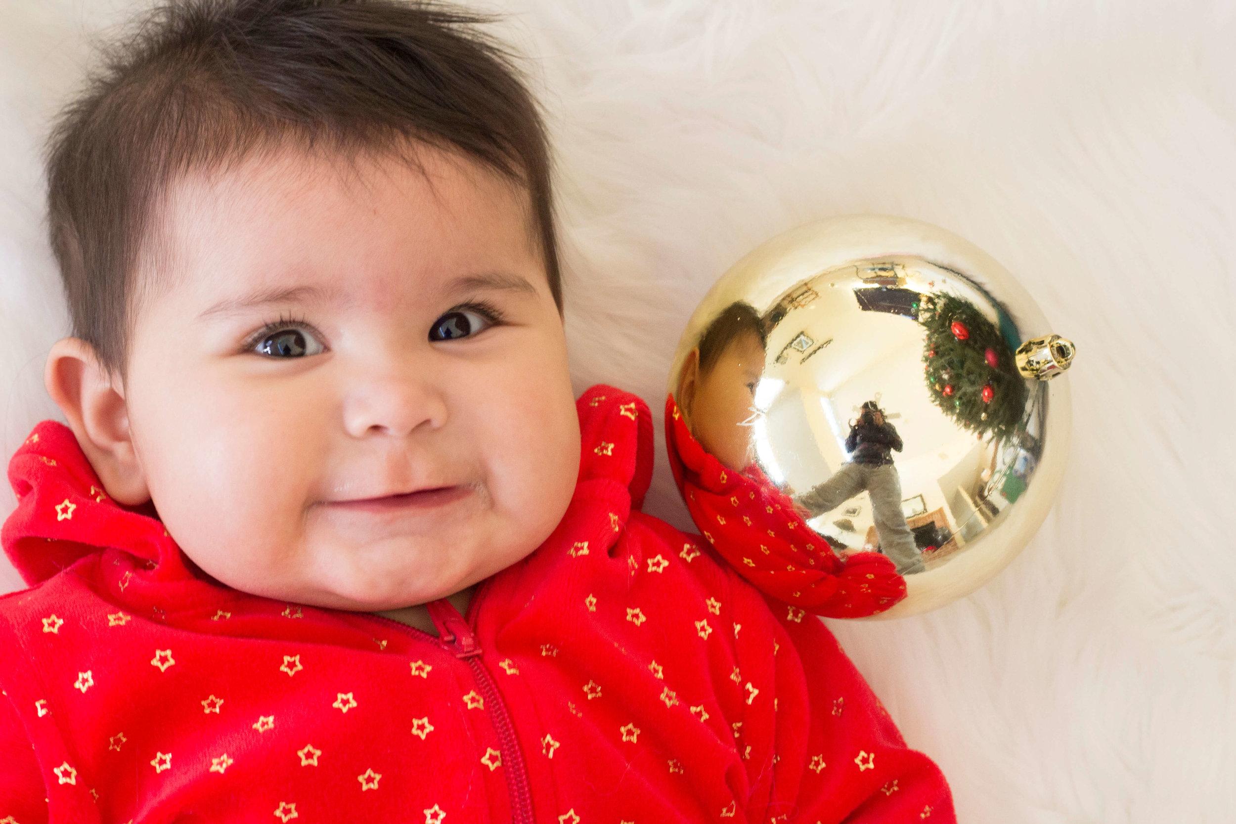 Baby Christmas photo ideas