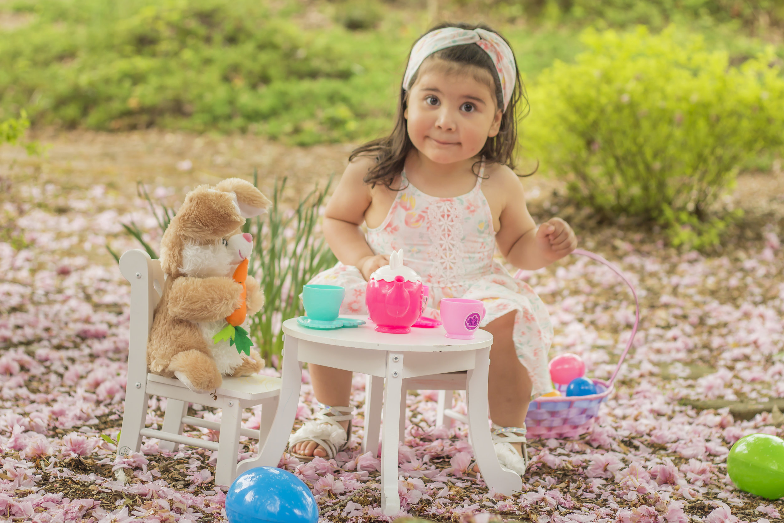Toddler Easter Photoshoot