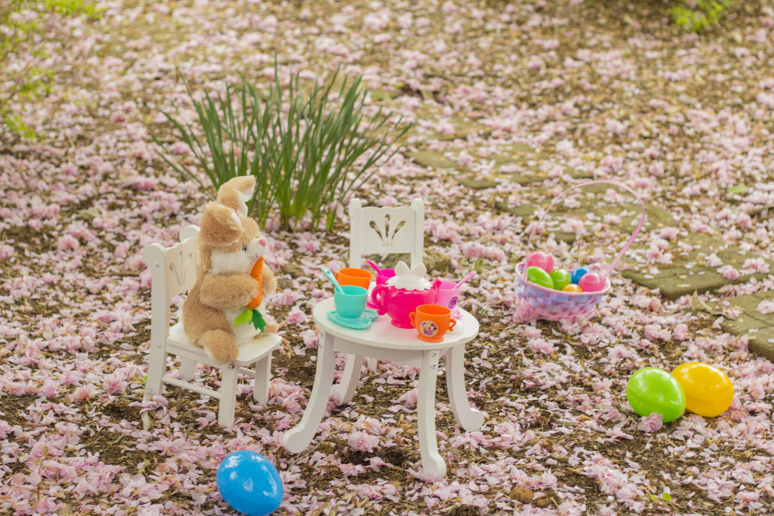 easter toddler photoshoot