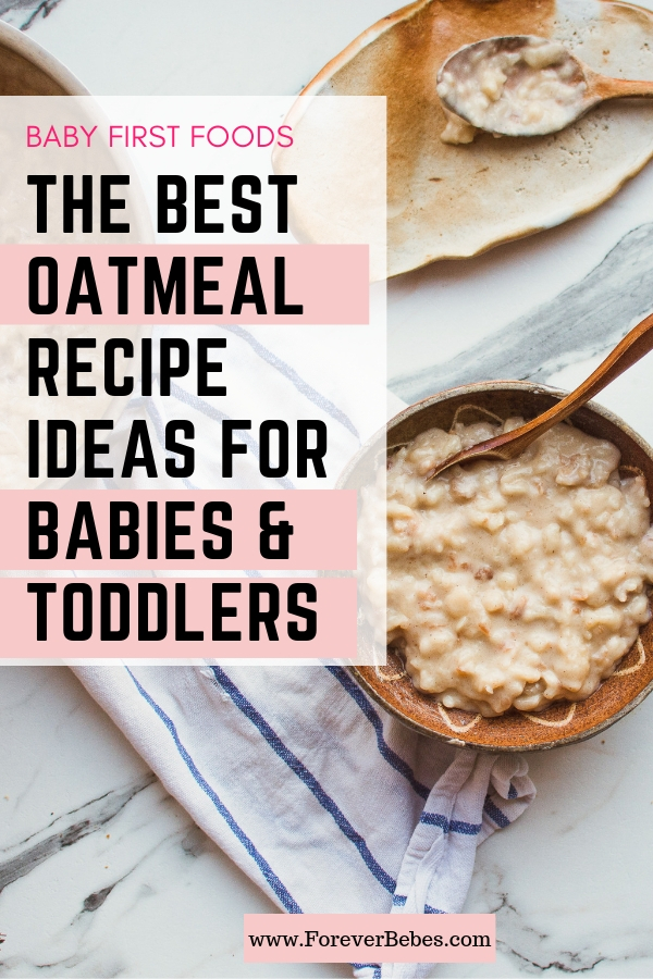 oatmeal recipes ideas for babies