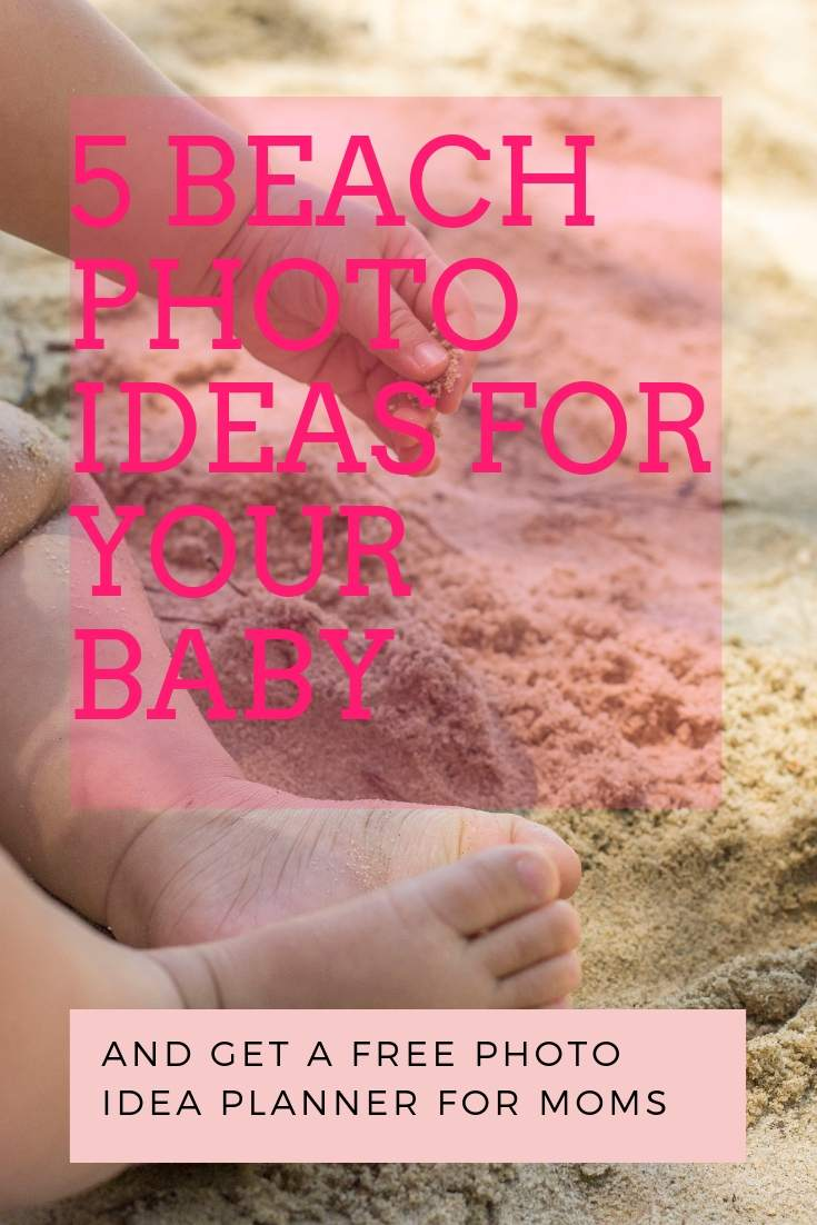 beach photo ideas for babies