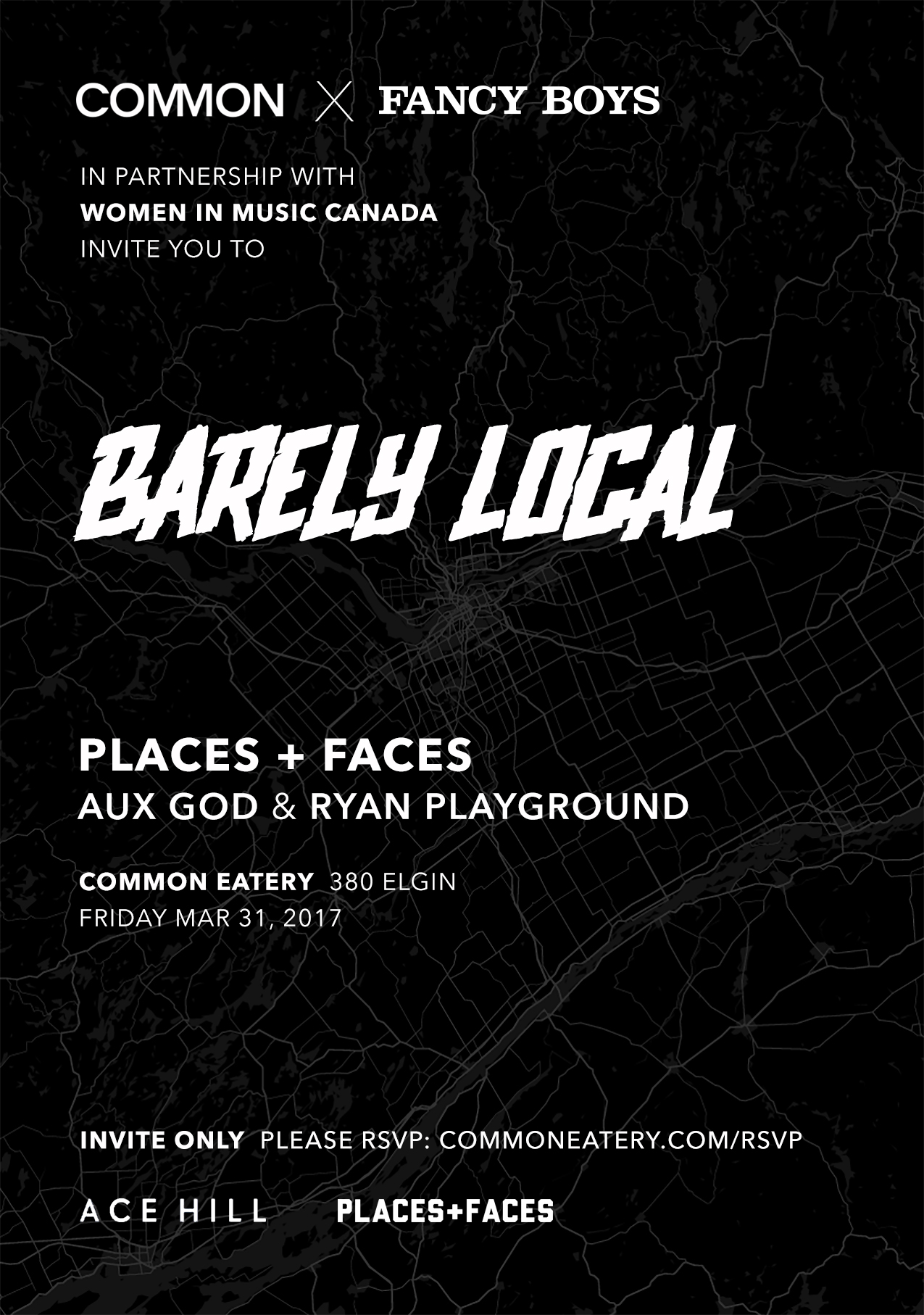 Barely Local Juno 2017 Party