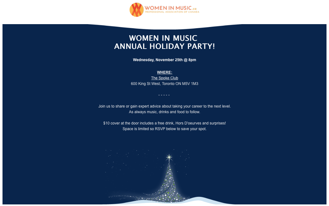 WIMC Holiday Party