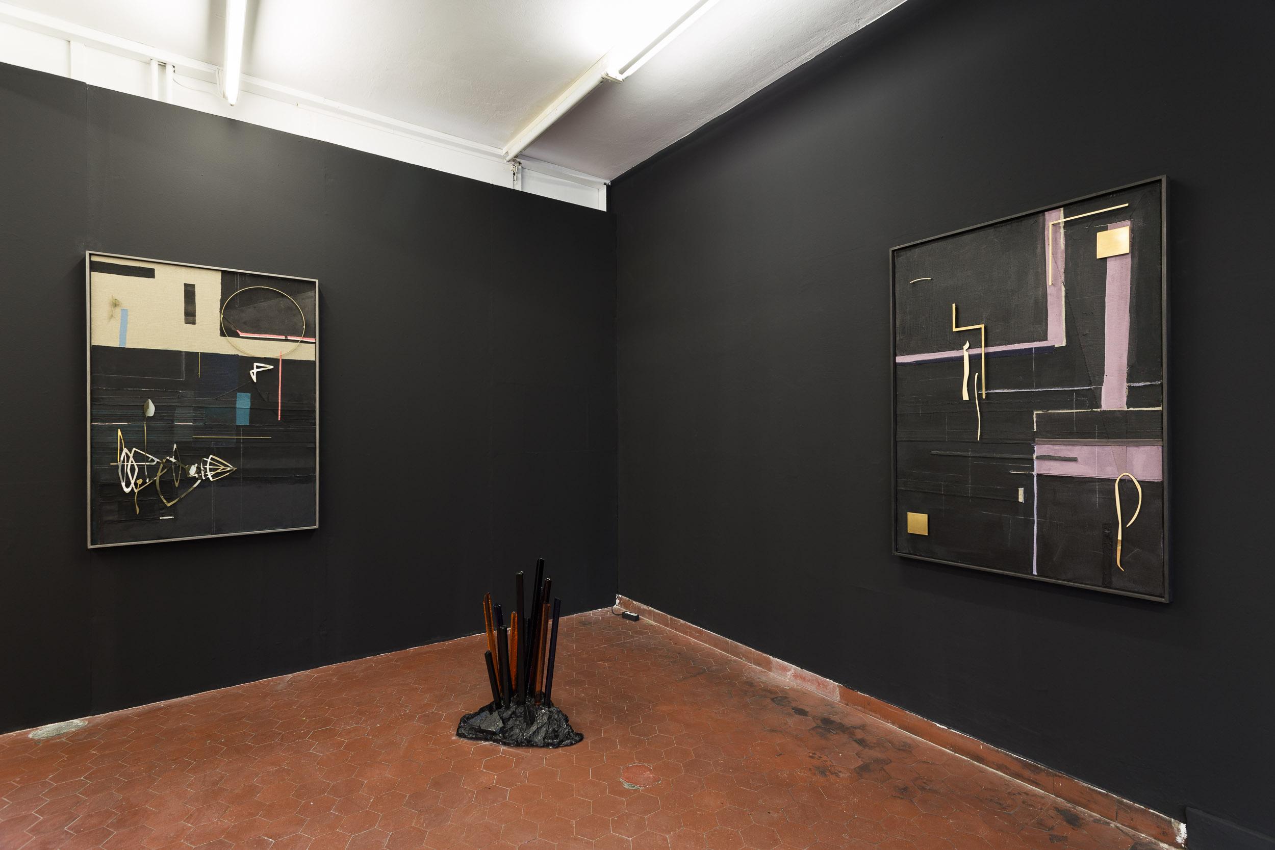 2. Kirstine Roepstorff & Matyás Chochola | Side Step: Nadim Abbas, installation view, Last Tango Photo: Kilian Bannwart