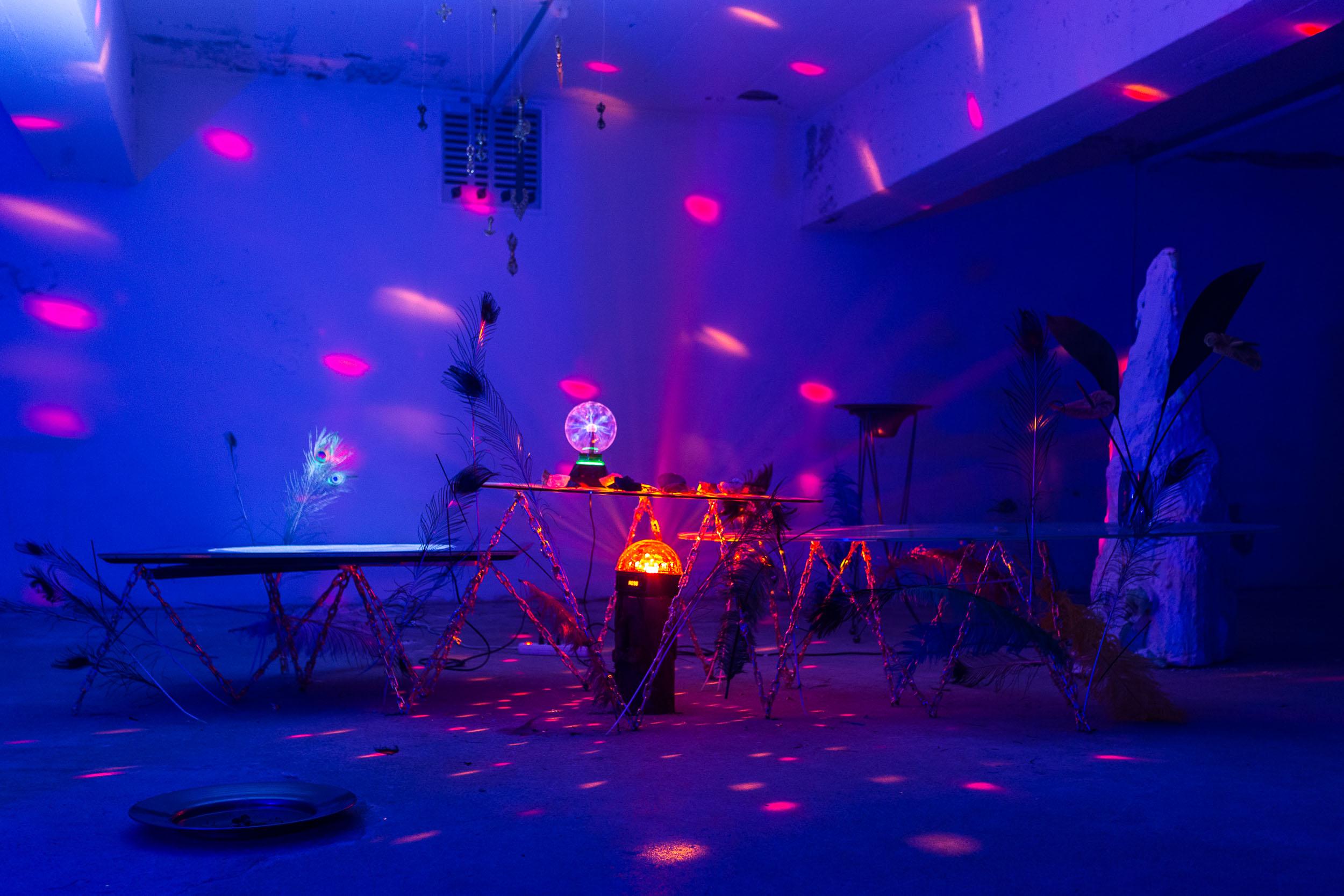 Matyás Chochola,  Big Bang Style , installation view, Last Tango Photo: Kilian Bannwart