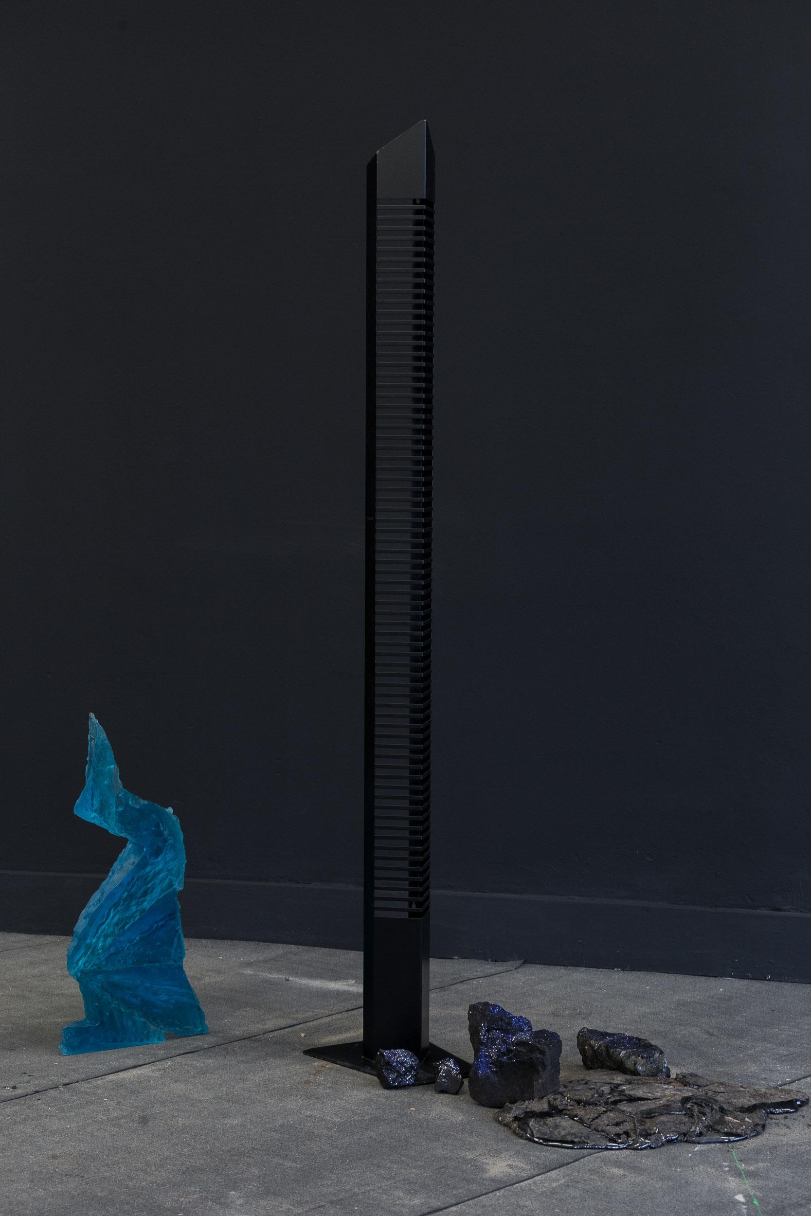 Matyas Chochola,    Monument of CD culture   , 2017, Mixed media installation, Dimension variable   Photo: Kilian Bannwart