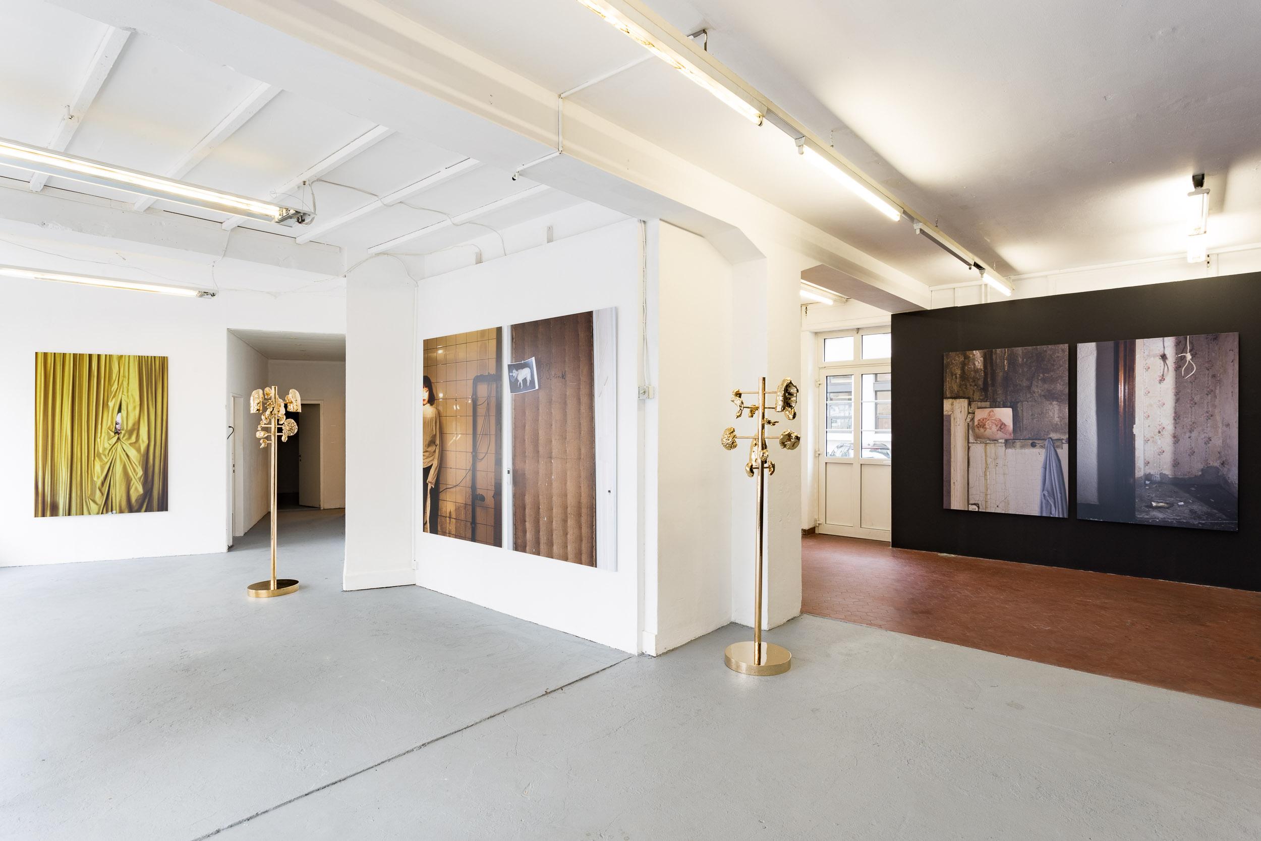 1. MANON & Mélodie Mousset , installation view  Photo: Kilian Bannwart