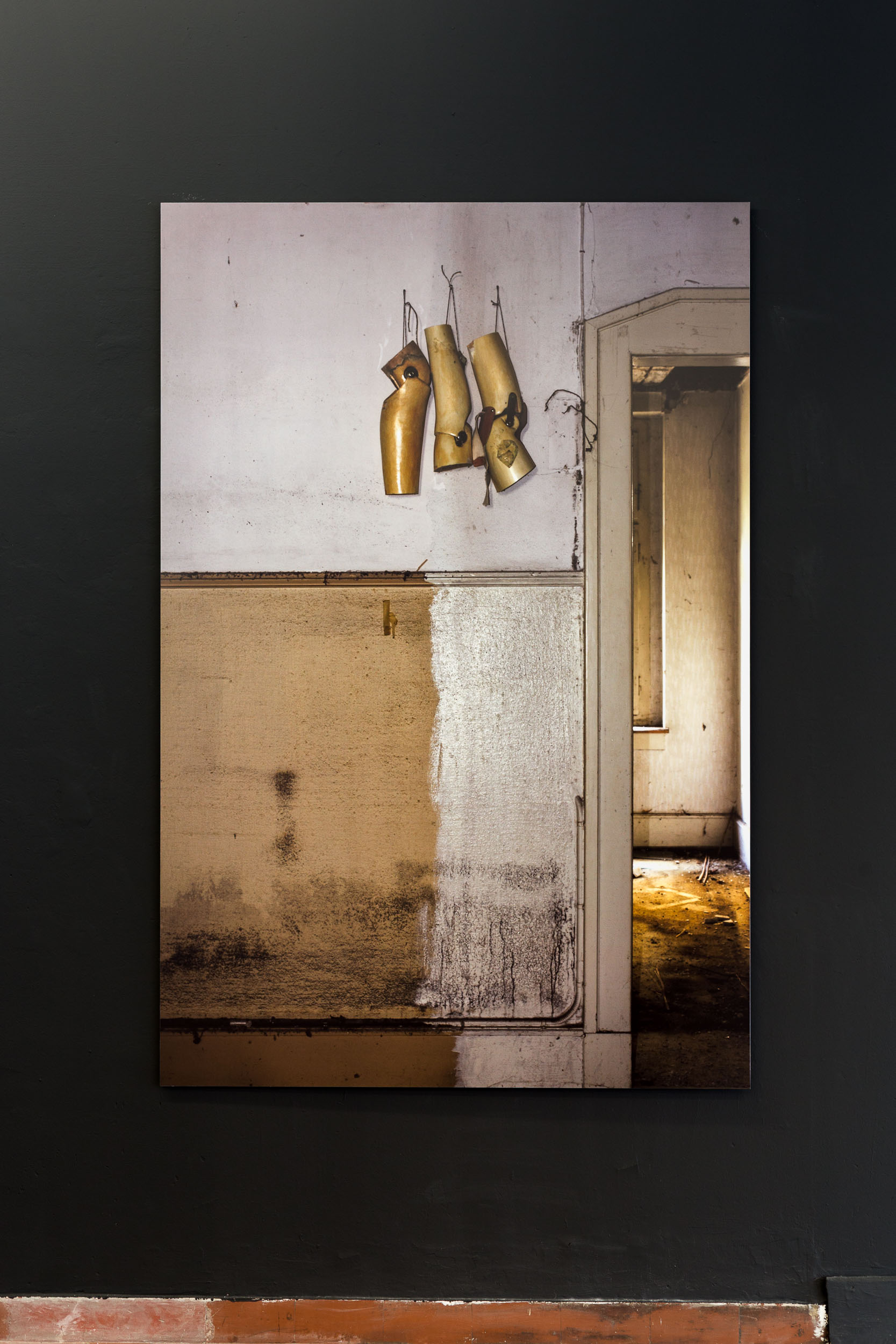 Manon,  Hotel Dolores,  2008-2011, Photoseries with ca. 150 Photographs, C-Prints on Fuji Crystal Archive Paper mounted on Aluminium, 189 x 126cm  Photo: Kilian Bannwart