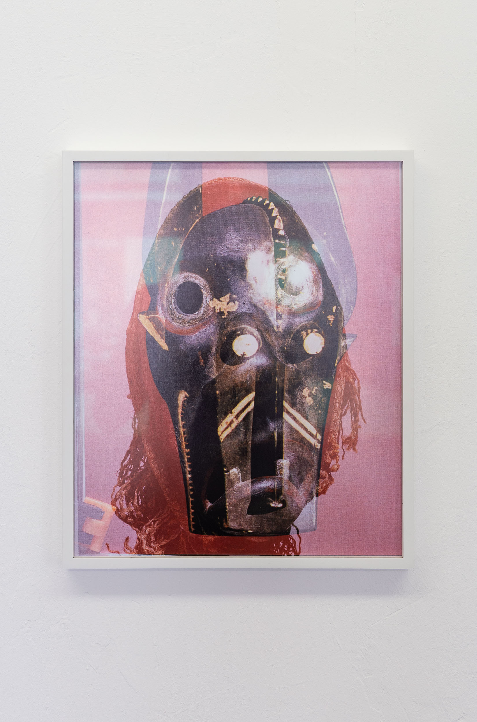 Michael Etzensperger,  Mask  (no. 26), 2016, inkjet prints, 35 x 42 cm  Photo: Kilian Bannwart