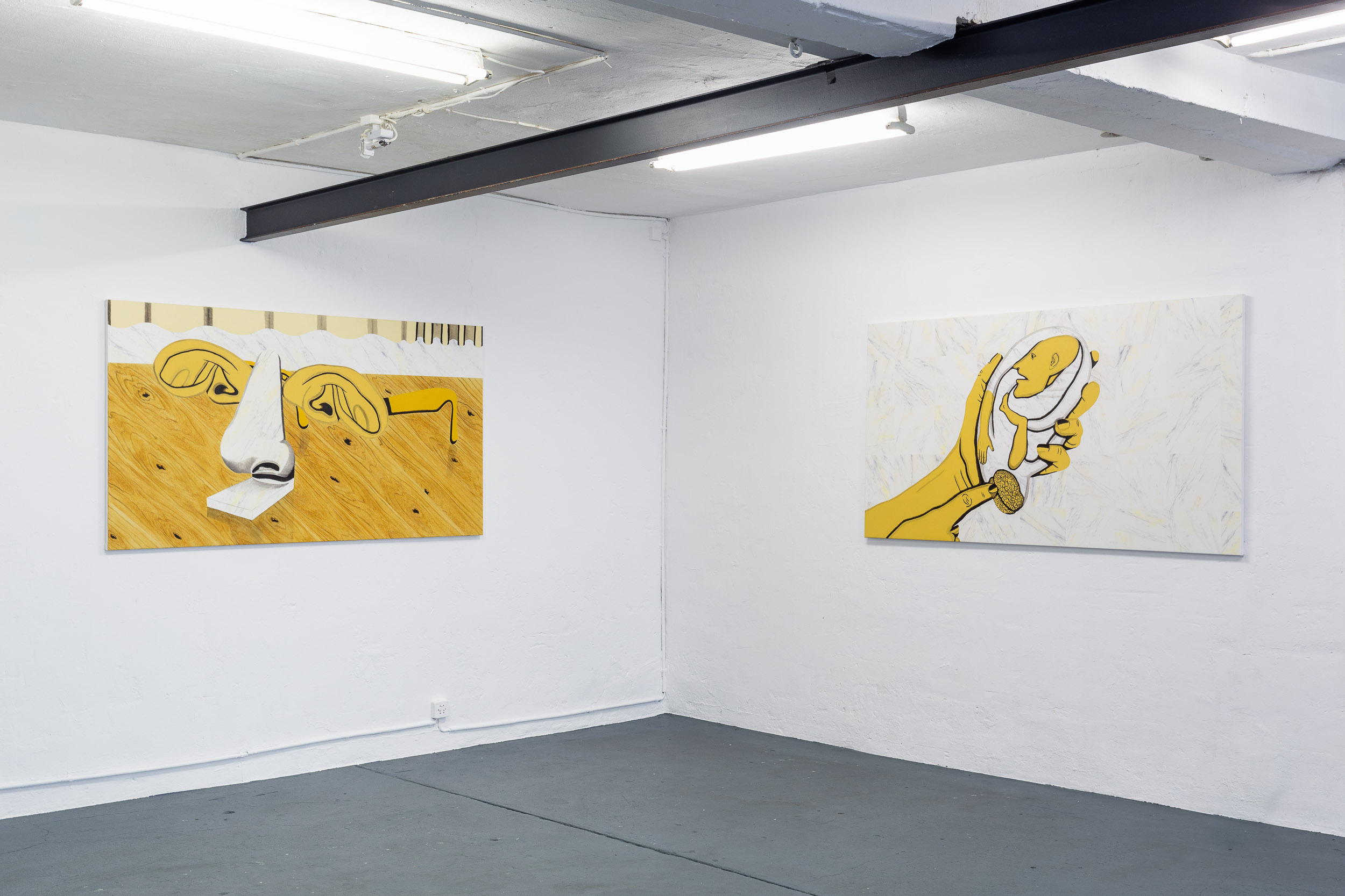 Sarah Margnetti, installation view Photo: Kilian Bannwart