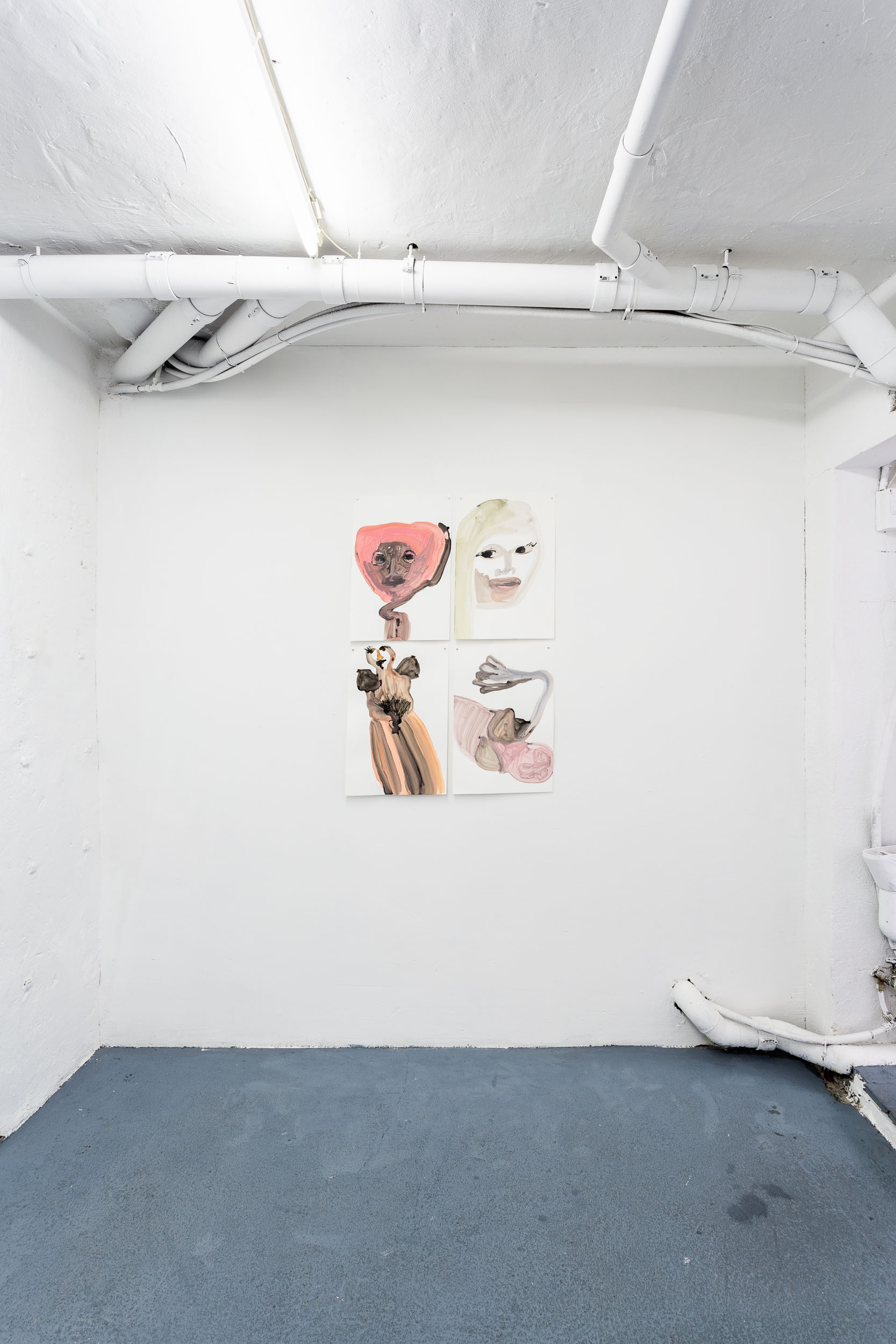 Megan Rooney, installation view Photo: Kilian Bannwart