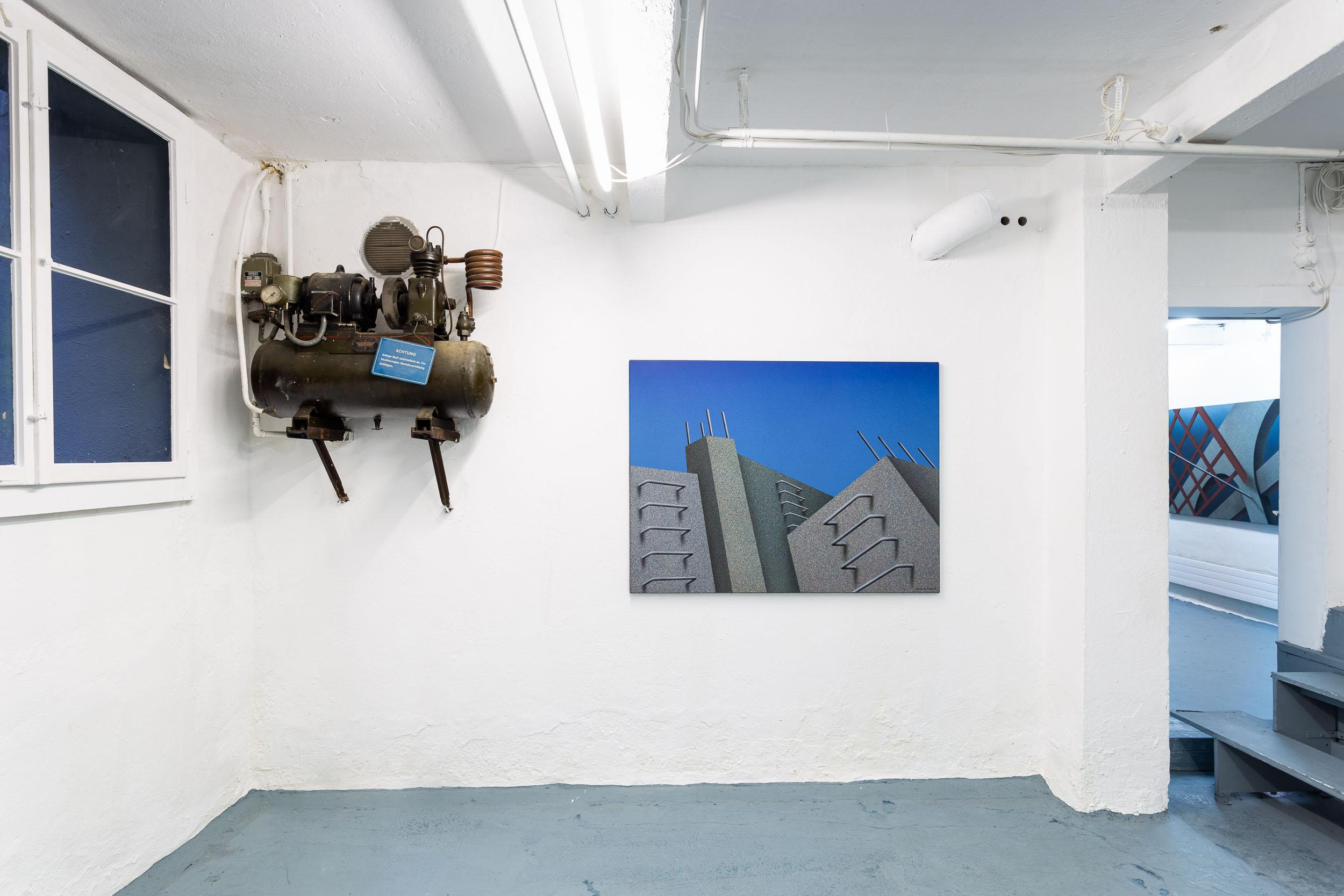 Eduardo Rubén,  Abandono , 1996, acrylic on canvas, 97 x 130 cm  Photo: Kilian Bannwart