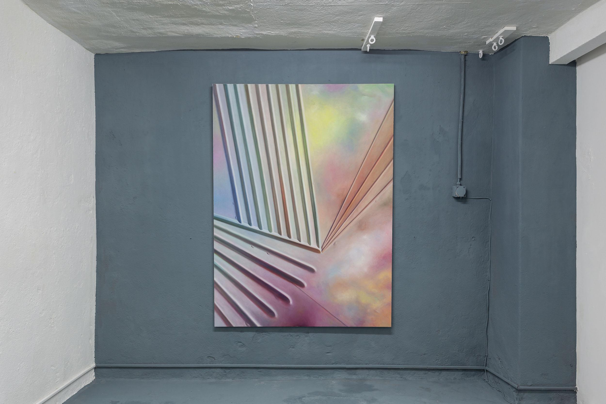 Eduardo Rubén,  Untitled  , 1994, acrylic on canvas, 109 x 149 cm  Photo: Kilian Bannwart
