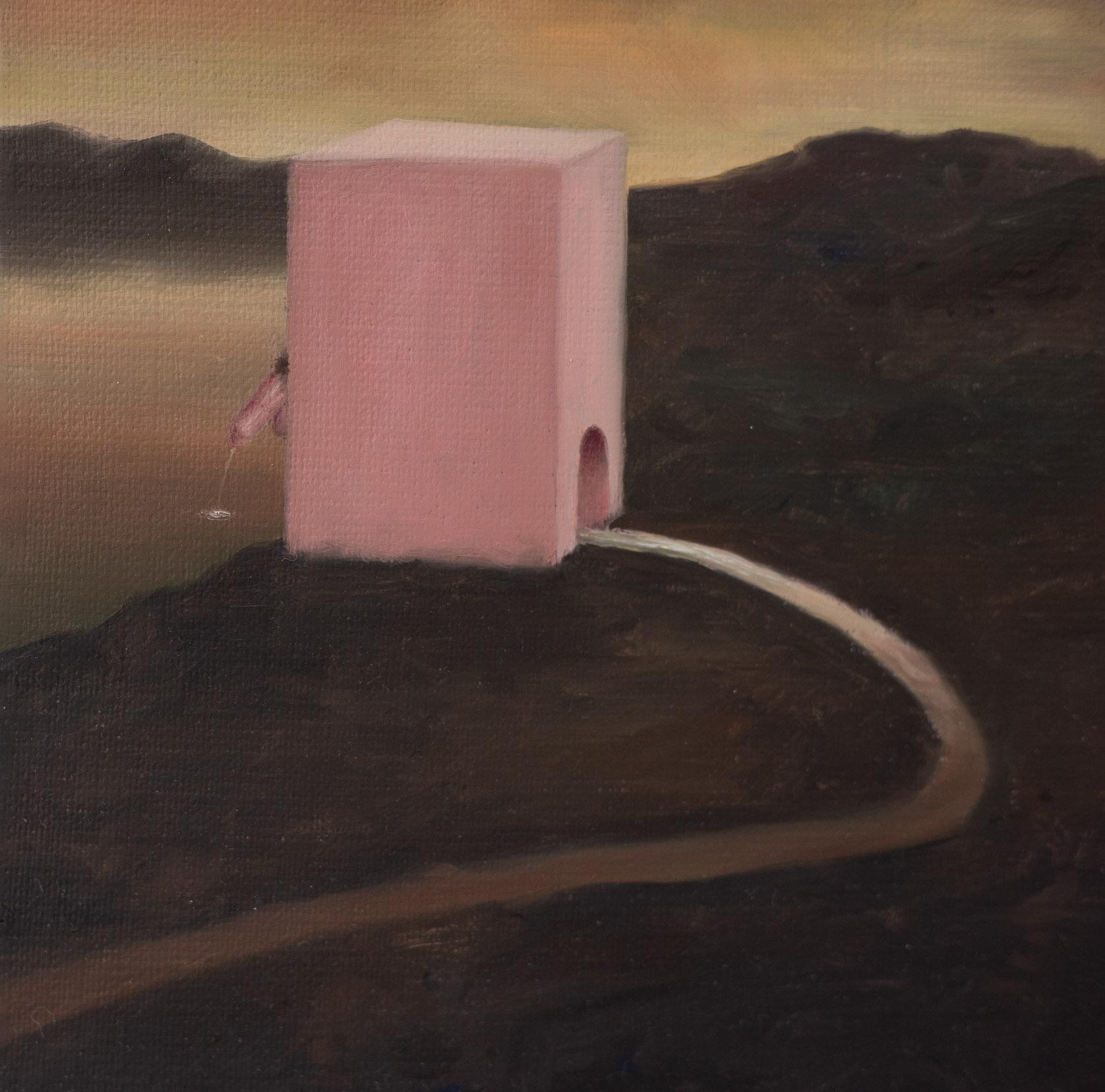 Francisco Sierra,  NeExBolígrafo  (series) (detail), 2015-ongoing, oil on board, 24 x 18 cm  Photo: Kilian Bannwart