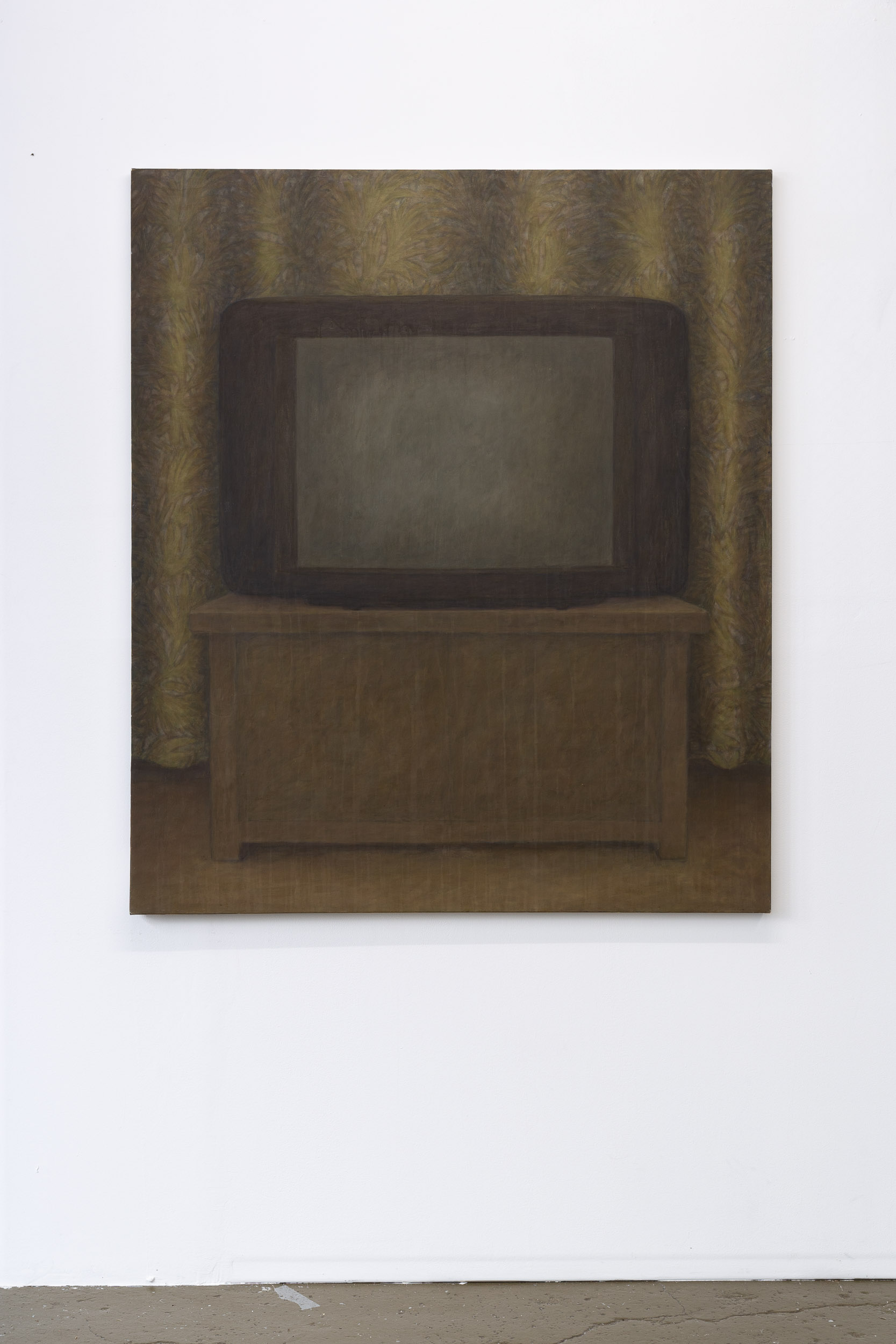 Christoph Hänsli,  Untitled , 1995, egg tempera and acrylic on canvas, 139 x 120 cm  Photo: Kilian Bannwart