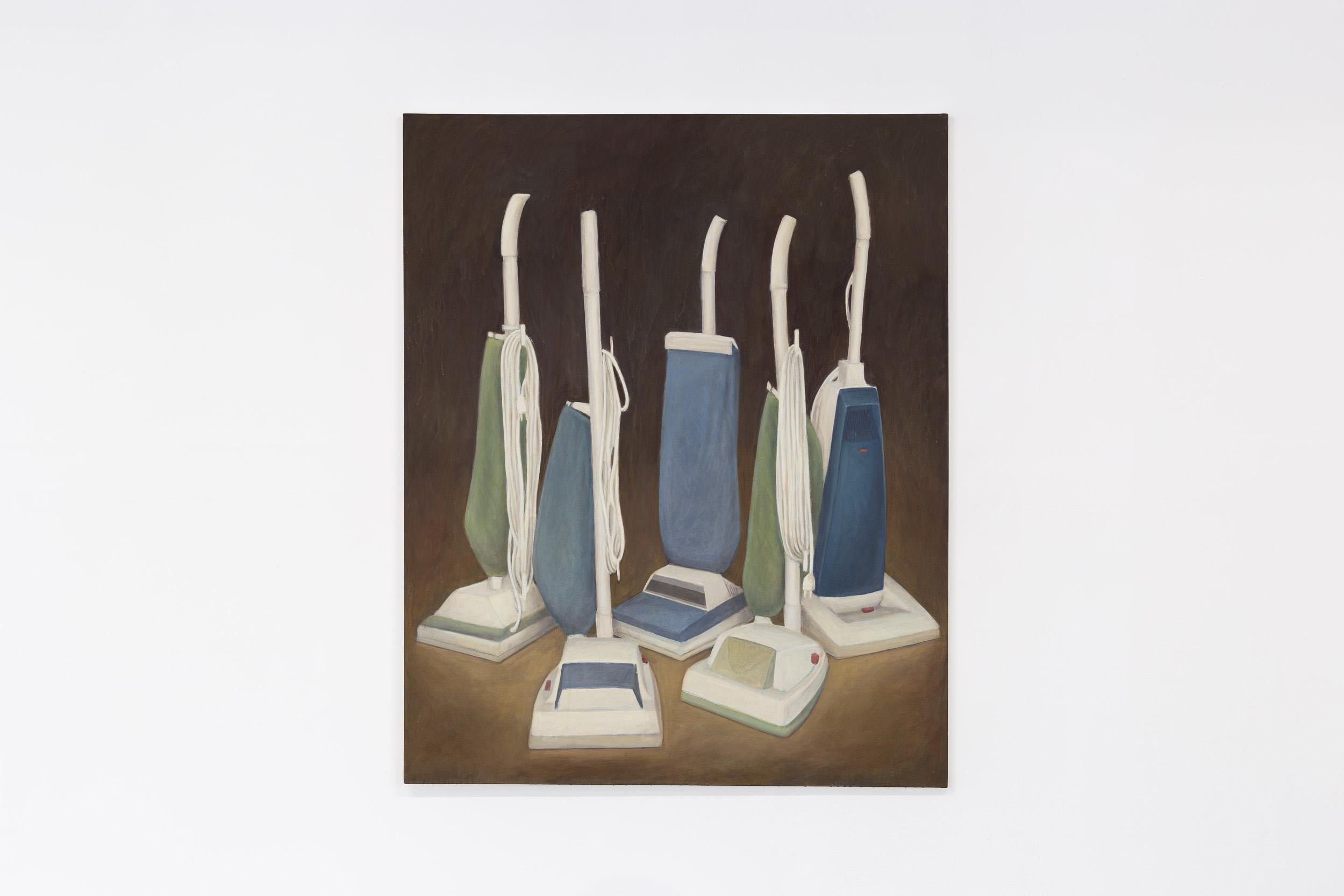 Christoph Hänsli,  The Congress , 1999, egg tempera and acrylic on canvas, 160 x 130 cm  Photo: Kilian Bannwart