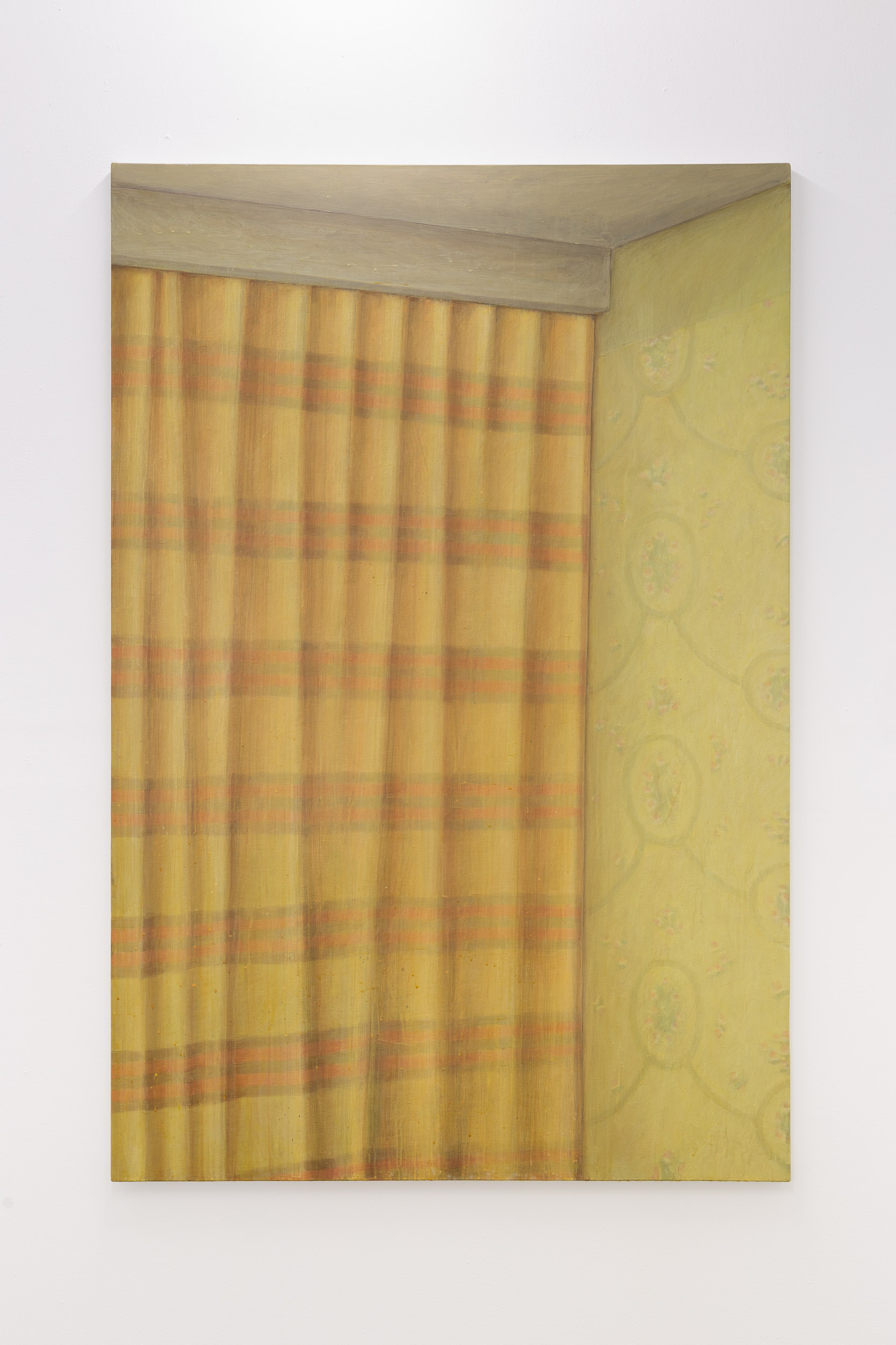 Christoph Hänsli,  Interior , 2000, egg tempera and acrylic on canvas, 164 x 110 cm  Photo: Kilian Bannwart